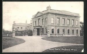 AK Bristol, Blaise Castle mit Auffahrt