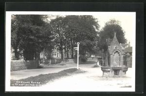 AK Stow-on-the-Wold, The Cross Roads, Brunnen