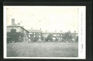 AK Droitwich, The Raven Hotel, the Lower Lawn