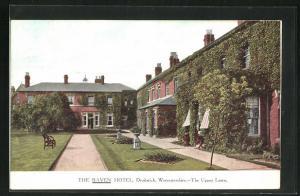 AK Droitwich, The Raven Hotel, The Upper Lawn