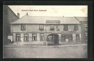 AK Southwell, Saracen`s Head Hotel