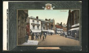 AK Oswestry, The Cross, Wholesale & Retail Grocers Francis & Beckitt