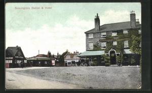 AK Sunningdale, Station and Hotel