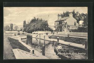 AK Reading, Mapledurham Lock