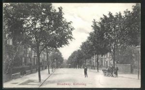 AK Kettering, Broadway, Strassenpartie