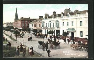 AK Silloth, View of Criffel Street