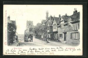 AK Warwick, West Gate, Strassenpartie