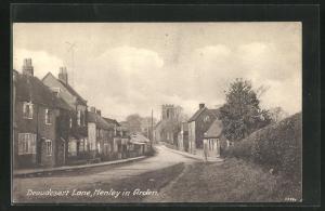 AK Henley in Arden, Beaudesert Lane, Strassenpartie