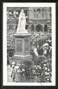 AK Nottingham, Unveiling the Statue of Queen Victoria, 1905