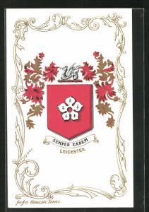 AK Leicester, Sempfer Eadem, Wappen