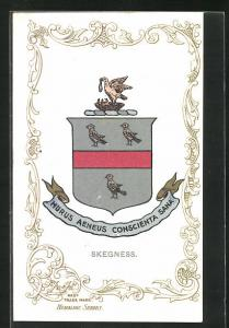 AK Skegness, Wappen Murus Aeneus Conscienta Sana
