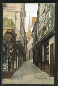 AK Shrewsbury, View of Grope Lane