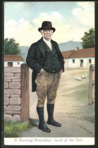 AK Irland, A Farming Proprietor - Lord of the Soil