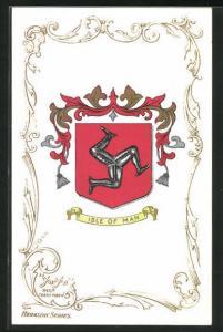 AK Isle of Man, Wappen der Insel