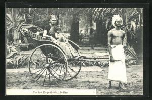 AK Indien, Gustav Hagenbeck`s Indien, Völkerschau