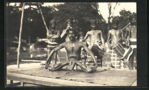 AK Indien, Village Hindou, Jardin d`Acclimatation, Bois de Boulogne, Völkerschau