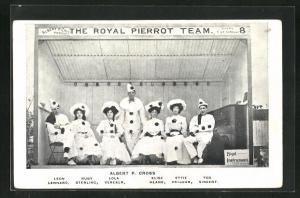 AK The Royal Pierrot Team, Leon Lennard, Ruby Sterling, Lola Vereker