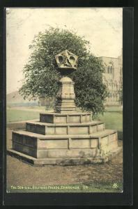 AK Edinburgh, Holyrood Palace, The Sun-Dial, Uhr