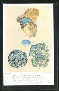 AK Precious Stones: Turquoise, Edelstein