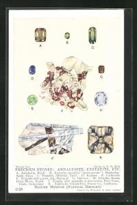 AK Precious Stones: Andalusite, Enstatite, Diopside, Kyanite, Edelstein