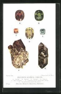 AK Precious Stones: Zircon, Jacynth, Jargoon, Twinned crystals, Edelstein