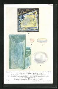 AK Edelstein, Precious Stones: Felspars, Labradorite, Amazon-stone, Sunstone, Moonstone