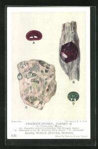 AK Precious Stones: Garnet, Almandine, Demantoid, Edelstein