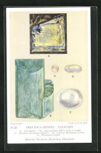 AK Precious Stones: Felspars, Labradorite, Amazon-stone, Sunstone, Moonstone, Edelstein