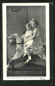 AK Thurston, The Princess Elizabeth and Princess Margaret von England