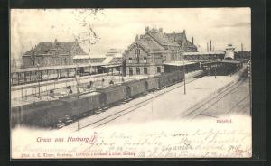 AK Hamburg-Harburg, Bahnhof