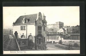 AK Hamburg-Borgfelde, Bahnhof Berliner Tor