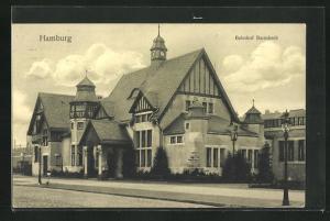 AK Hamburg-Barmbek, Bahnhof