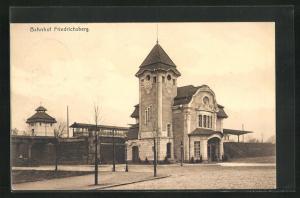 AK Hamburg-Dulsberg, Bahnhof Friedrichsberg