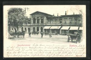 AK Hamburg-Rotherbaum, Dammtorbahnhof