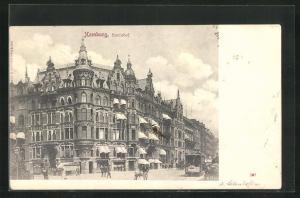 AK Hamburg-Neustadt, Hotel Hansahof, Hote Bleichen 34-35
