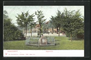 AK Hamburg-Wandsbek, Doppeleiche