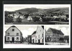 AK Altenglan, Geschäft H. Heil mit , Bürgermeisterei und Gasthaus Cappel
