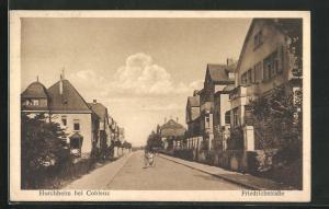AK Horchheim, Blick in die Friedrichstrasse