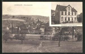 AK Ohmbach, Gasthaus Adolf Erfurt