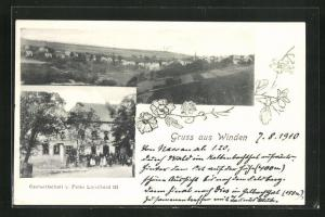 AK Winden, Gastwirtschaft v. Peter Linscheid III., Gesamtansicht