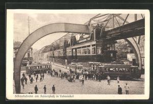 AK Vohwinkel, Schwebebahn am Kaiserplatz