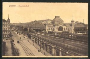 AK Dresden, Hauptbahnhof