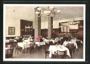 AK München, Gaststätte Excelsior, Innenansicht, Schützenstrasse 11