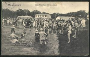 AK Magdeburg, Städtisches Strandbad