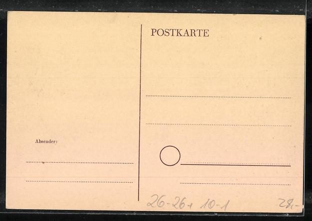 Künstler-AK Handgemalt: Leipzig, 1. Sozialistischer Kulturtag 1948, DDR-Propaganda 1