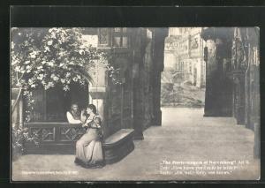 AK Bayreuth, The Mastersingers of Nuremberg, Act II., Eva and Sachs