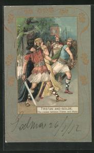 AK Tristan and Isolde, The contest between Tristan and Melot, Jugendstil
