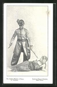 AK Tanz, The Sultan Mulick el Nazu, Eastern Dancer Zammu, Miss Thora, A. Pearson