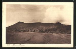 AK De vulkaan Bromo, Vulkan