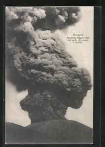 AK Vesuvio, Eruzione Aprile 1906..., Vulkanausbruch